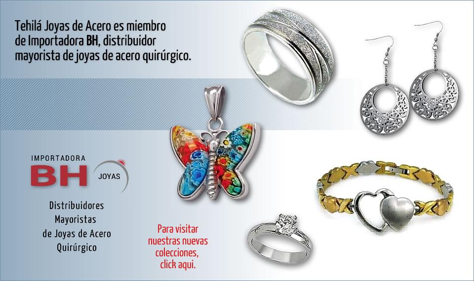 d0e2603e2424 Tehilá Joyas de Acero Quirurgico Venta Directa por Catálogo
